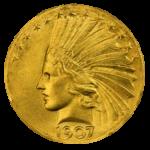 インディアンコイン 1907年