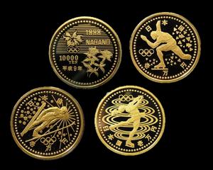 長野オリンピック冬季競技大会記念金貨