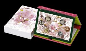 桜の通り抜け プルーフ貨幣