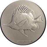 沖縄国際海洋博覧会記念銀メダル