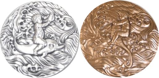 沖縄国際海洋博覧会記念銀・銅セット