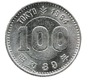東京オリンピック_100円