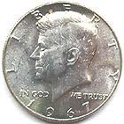 ケネディ銀貨1965~1970