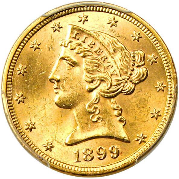 リバティ5ドル金貨