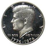 ケネディ銀貨1971~