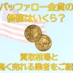 バッファロー金貨の価値はいくら?買取相場と高く売れる業者をご紹介